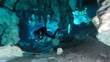 Underwater Speleology
