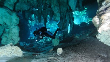 Underwater Speleology