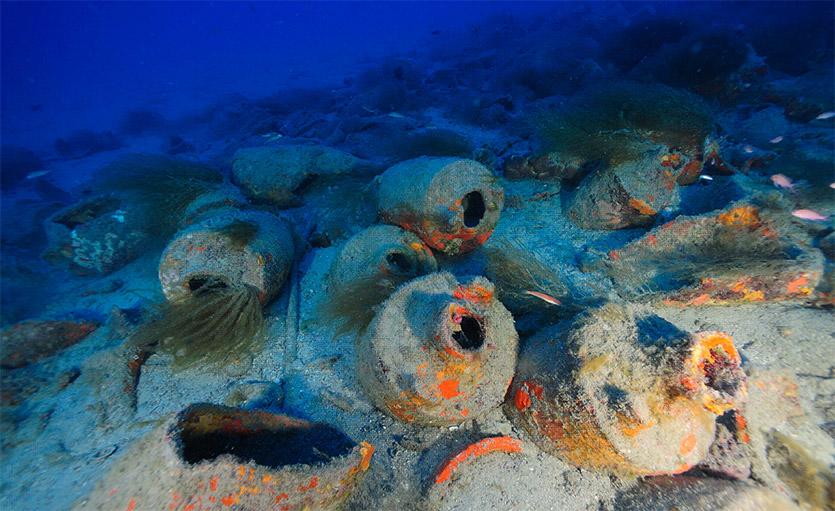 Relitto delle nave romana di Albenga