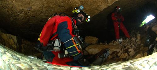Initiation à la plongée souterraine
