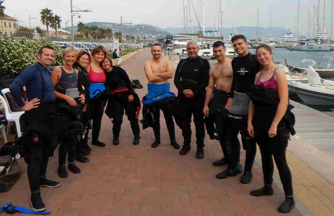 Corso subacquea OPEN DIVER aprile 2019